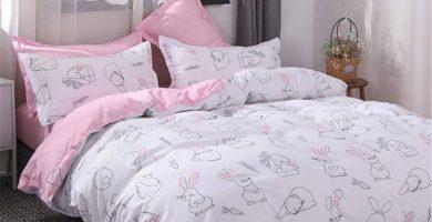 Decoración de hogar de conejos