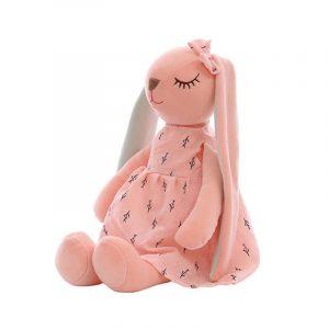 conejita de peluche rosa juguete para niña