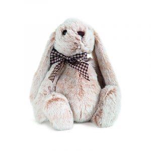 conejo de peluche marrón
