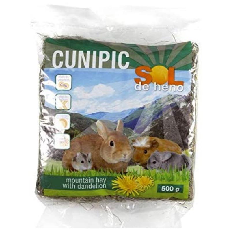 Cunipic Sol de Heno con diente de león para conejos enanos