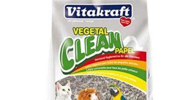 lecho higiénico de papel para esquineros de conejos enanos