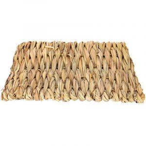 alfombra de hierba juguetes para conejos enanos
