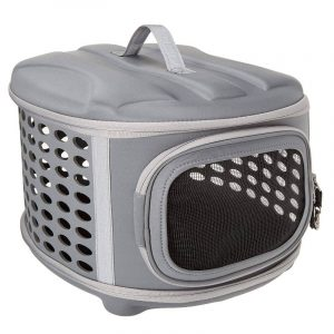 transportín para conejos enanos Pet Magasin 45cm de color gris