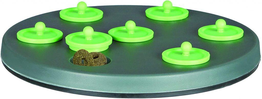 trixie snacks juego con tapas para conejos enanos