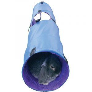 tunel de adiestramiento para conejos enanos