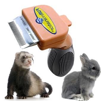 Cepillo Furminator - cepillar a conejos enanos